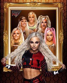 Wrestling Stars, Wrestling Divas, Charlotte Flair, Wwe Lucha, Divas Wwe, Daniel Bryan Wwe, Wwe T Shirts, Wwe Female Wrestlers, Wwe Girls