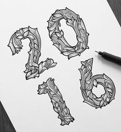 Amazing details. Type by @jeremy_schiavo | #typegang if you would like to be featured | typegang.com | typegang.com #typegang #typography