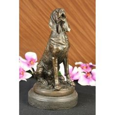ON SALE !!! Signed By Cain Blood Hound Bloodhound Kennel Club Dog Sculpture...�The Most Widespread Form Of Inter-Species Bonding Occurs Between Humans And Dogs� And The Keeping Of Dogs As Companions, Particularly By Elites, Has A Long History. However, Pet Dog Populations Grew Significantly After World War Ii As Suburbanization Increased. In The 1950S And 1960S, Dogs Were Kept Outside More Often Than They Tend To Be Today (Using The Expression �In The Doghouse� To Describe Exclusion From The…