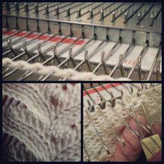 Machine Knitting #cupcosy
