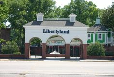 Libertyland, Memphis' patriotic-themed amusement park, opened in 1976 and closed its doors in 2005.
