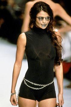Helena Christensen - Chanel Spring/Summer 1996