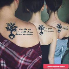 Today, millions of people have tattoos. From different cultures to pop culture enthusiasts, many people have one or several tattoos on their bodies. While a lot of other people have shunned tattoos… Tattoos Bein, Bff Tattoos, Friend Tattoos, Body Art Tattoos, 3 Sister Tattoos, Tattoos For Sisters, Unique Sister Tattoos, Tattoos For Friends, Memory Tattoos