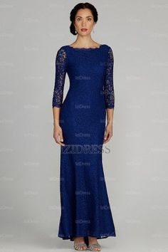 Trumpet/Mermaid Bateau Ankle-length Lace Mother of the Bride - IZIDRESSBUY.com at IZIDRESS.com