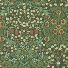 Buy William Morris & Co 216456 Blackthorn Wallpaper | The Craftsman | Fashion Interiors