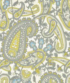 Premier+Prints+Henna+Summerland/Natural+Fabric