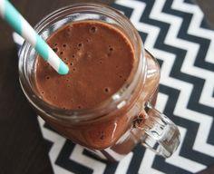 Choco-pinda smoothie. Recept op It's Pure Food