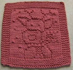 Free+Knitting+Pattern+-+Dishcloths+&+Washcloths+:+Rudy+Cloth