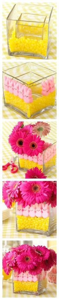 DIY Cute Easter Vase