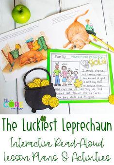 #theluckiestleprechaun #theluckiestleprechaunlesson #stpatricksday #stpatricksdaylesson #thecorecoaches