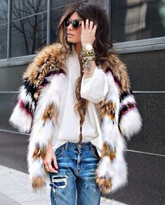 #fur #chic #luxury