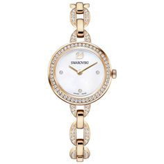 Swarovski Aila Mini Watch, Rose Gold, 5253329 | Duty Free Crystal | Duty Free Crystal
