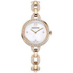 Swarovski Aila Mini Watch, Rose Gold, 5253329   Duty Free Crystal   Duty Free Crystal