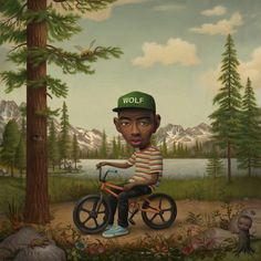 Mark Ryden - Illustration - PopSurrealism - WOLF - Tyler The Creator.