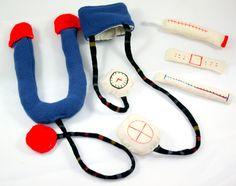35 EUR Weiteres - Arzttasche mit Schürze und viel Zubehör - ein Designerstück von labuki bei DaWanda