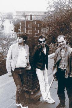 Die Time Twisters - 1985 Jürgen Jahn, Ralf Wendler, Andreas Henning Foto © U. Henning 1985