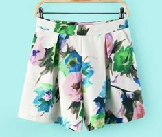 shorts aquarela