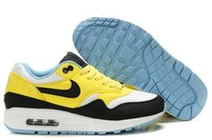 hot sales c9ac3 17d9c Acheter Nike Air Max 1 Femme Citron Blanc Turquoise Taille 37 Nike Air Max  2012,