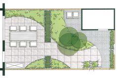 10 Small Garden Plans Ideas, Most Incredible and also Lovely Small Garden Plans, Garden Yard Ideas, Diy Garden Decor, Landscape And Urbanism, Landscape Design, Plan Sketch, Modern Garden Design, Edible Garden, Small Gardens