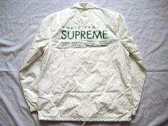入手困難!Supreme International Coaches Jacket白