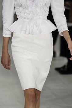 Pretty white top #fashion