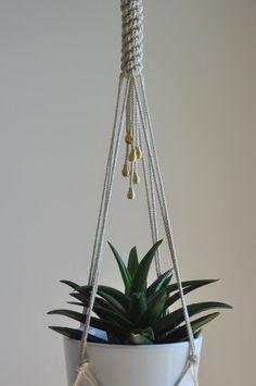 Macrame Hanging Planter, Macrame Plant Holder, Macrame Plant Hangers, Hanging Planters, Plant Holders, Metal Plant Hangers, Indoor Plant Hangers, Jardiniere Design, Macrame Design