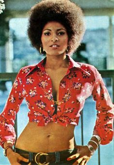 Pam Grier hair - The Original Foxy Brown -  #untkidslovesthis