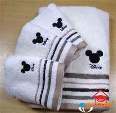 Disney Bathroom Towels
