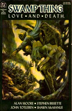 Swamp thing - Love and Death