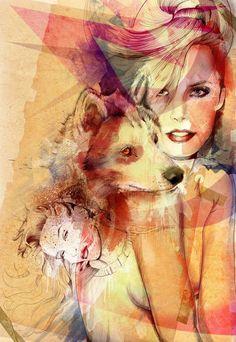 wolf/woman