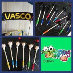 O Vasco veio celebrar os seus 4 anos na Jumpingclay Oeiras...vejam o que fez com os seus amigos!