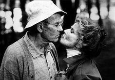 """Henry Fonda y Katharine Hepburn, """"En el Estanque dorado"""", 1981"""