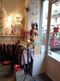 Ubé Ule la boutique qui aime les enfants, Paris, France.