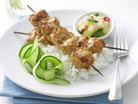 Malay chicken skewers