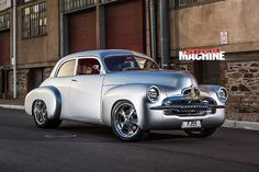 holden fj front angle nw