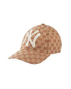 43a07d6bf3c77 Men s Logo-Print Baseball Cap with New York Yankees Applique