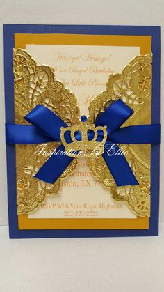 Royal themed Baby Shower Invitations Beautiful Royal Prince Birthday Invitations Set Of 12 Birthday Invitations Prince Birthday Theme, Boy Birthday Parties, Baby Shower Parties, Baby Shower Themes, Baby Boy Shower, Royal Invitation, Birthday Invitations, Shower Invitations, Imprimibles Halloween