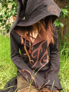 Ellafancy Black Friday Thanksgiving Deals Casual Long Sleeve Plus Size Goth Hoodie Plus Size Goth, Wood Nymphs, Cosplay Costume, Holiday Tops, Mein Style, Fantasy Costumes, Halloween Disfraces, Types Of Sleeves, Boho Style