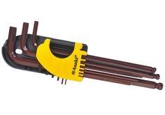 1.5-10mm Bộ lục giác đầu bi 9 cây Asaki AK-7407