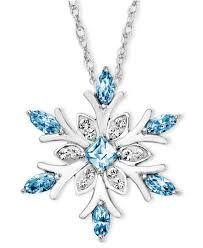 Delicate Crystal Snowflake Custom Necklace