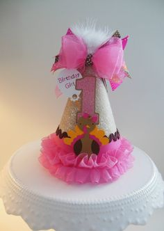 Lil' Candy Pink Turkey Thanksgiving by SandysSpecialtyShop on Etsy