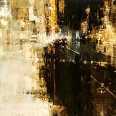 """""""SF 9"""" 36 x 36 inches - Oil on Panel - Jeremy Mann"""