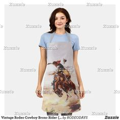Aprons Vintage, Vintage Shops, Western Kitchen Decor, Cook At Home, Cowboy And Cowgirl, Summer Bbq, Rodeo, Cool Designs, Style