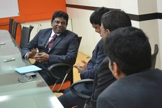 Discussion with Anna Univ - VC