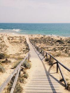 travelingcolors:  Faro de Trafalgar, Los Caños | Spain (by Nacho Coca)