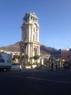 Reloj monumental, Pachuca, Hidalgo.