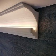 Light for walls and ceilings Professional skirting board . - Light for walls and ceilings Professional skirting board … - Living Room Decor Ikea, Ceiling Design Living Room, Tv Wall Design, Home Ceiling, False Ceiling Design, Living Room Designs, Led Light Design, Lighting Design, Cove Lighting