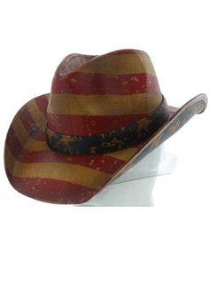 VINTAGE AMERICA COWBOY HAT