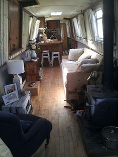 Houseboat Interiors Ideas - The Urban Interior
