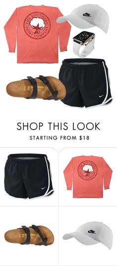 Running by clairathegreat on Polyvore featuring Birkenstock and NIKE